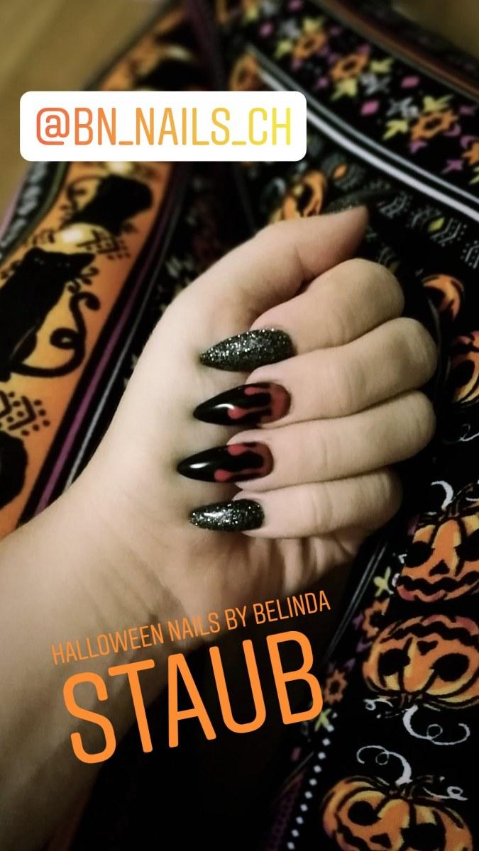 Gelnägel Halloween