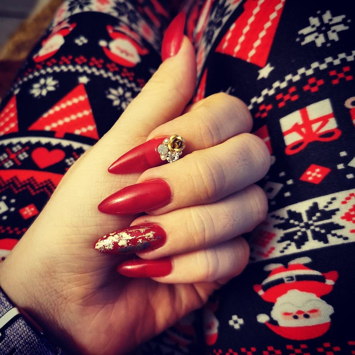 Gelnägel Weihnachten