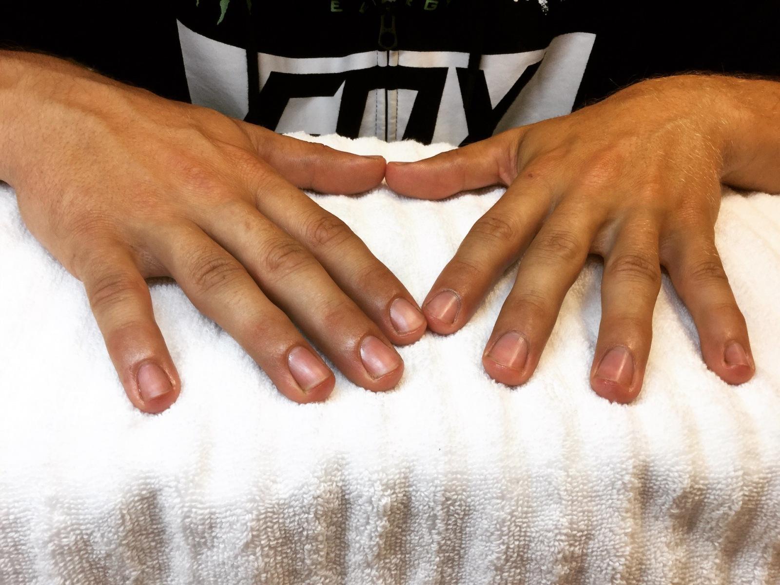 Manicure für Männer